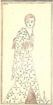 『苦楽』大正15年2月号 山名文夫による「闇に蠢く」の挿絵.jpg